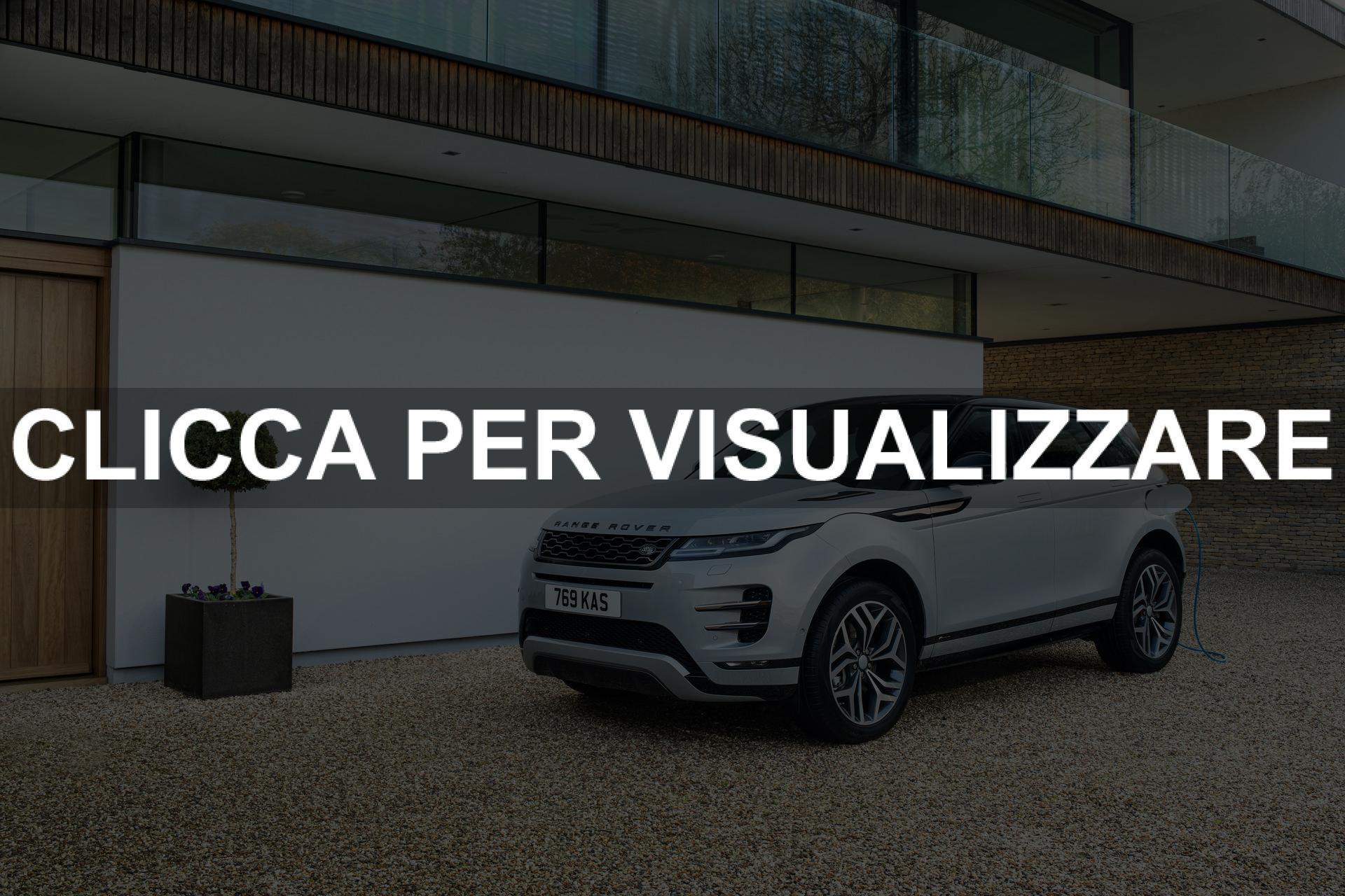 Nuova Range Rover Evoque Ibrida motore prestazioni e prezzo