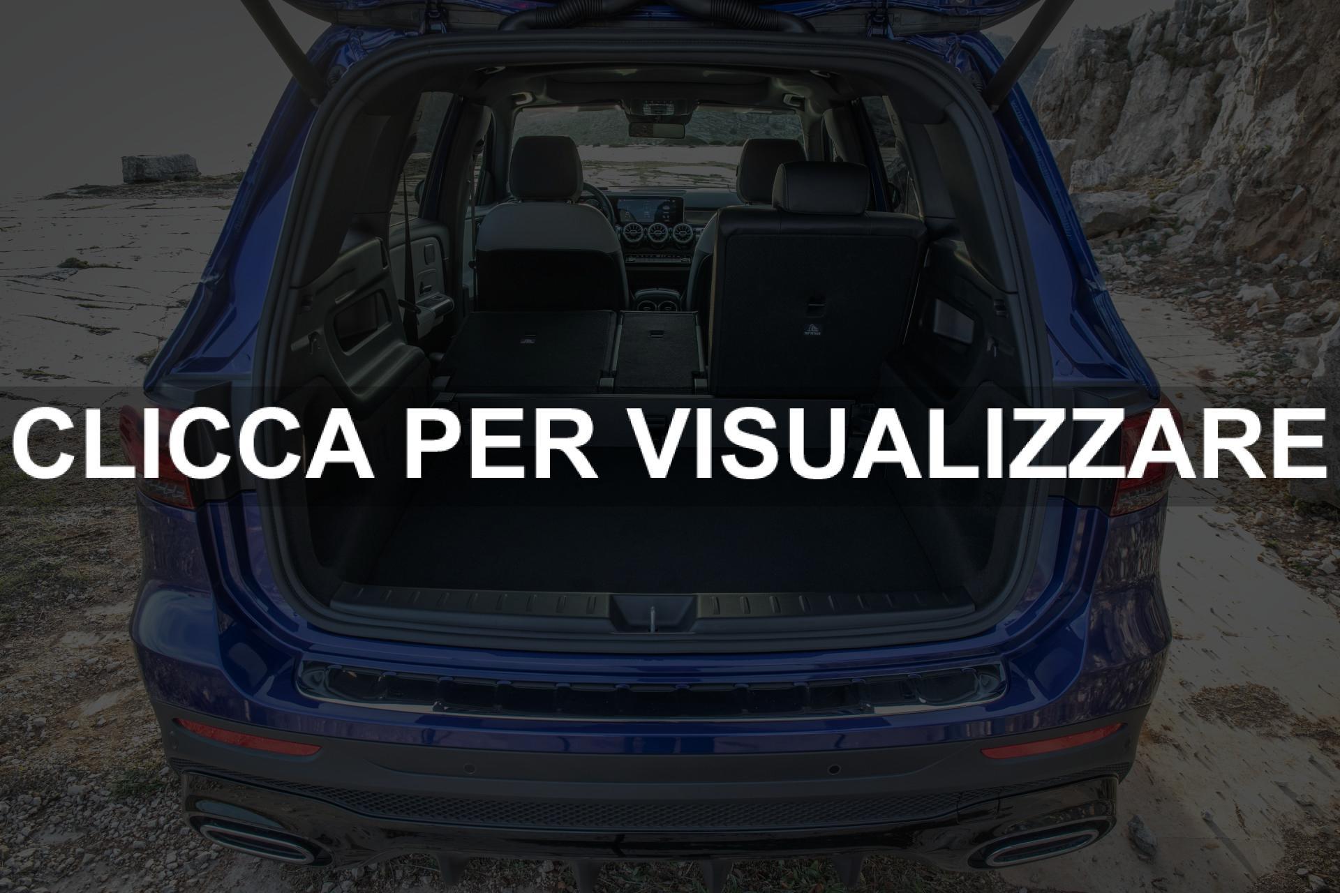 Capacita Bagagliaio nuovo Mercedes GLB 2020