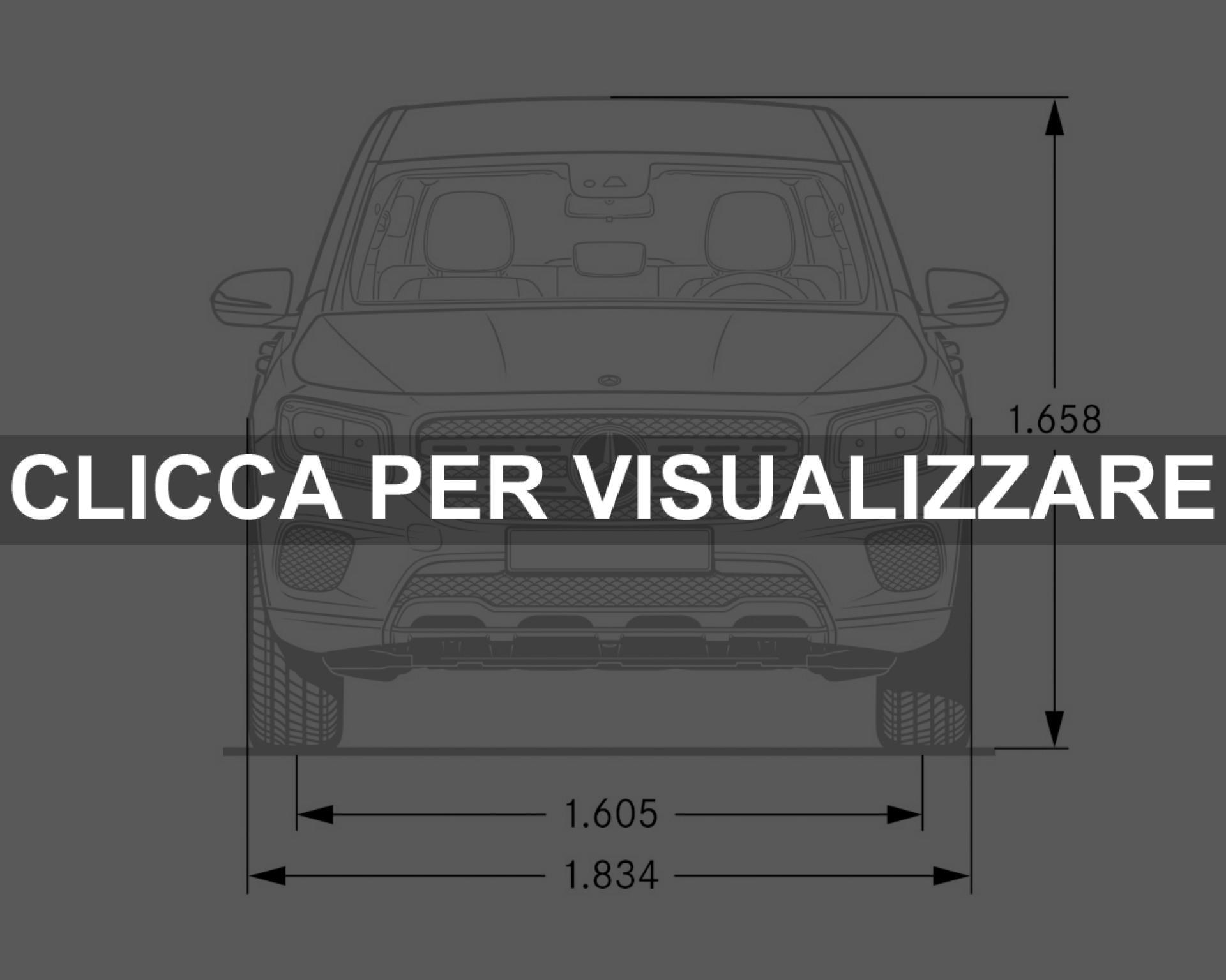 Dimensioni Altezza Larghezza nuovo Mercedes GLB