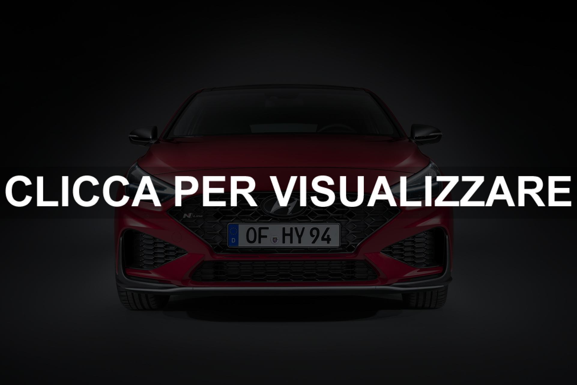 Frontale nuova Hyundai i30 compatta 2020