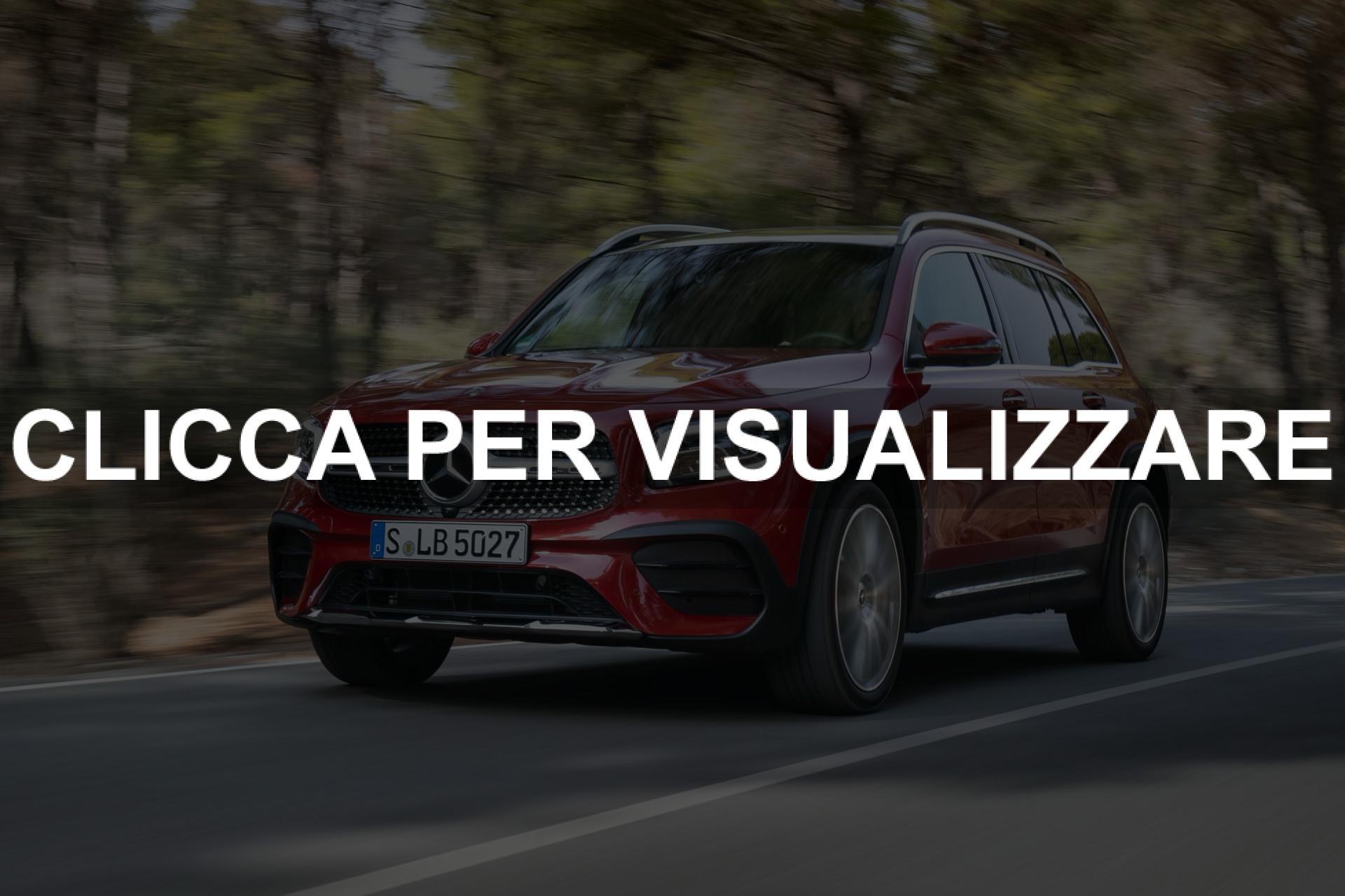 Immagine Frontale nuovo Mercedes GLB