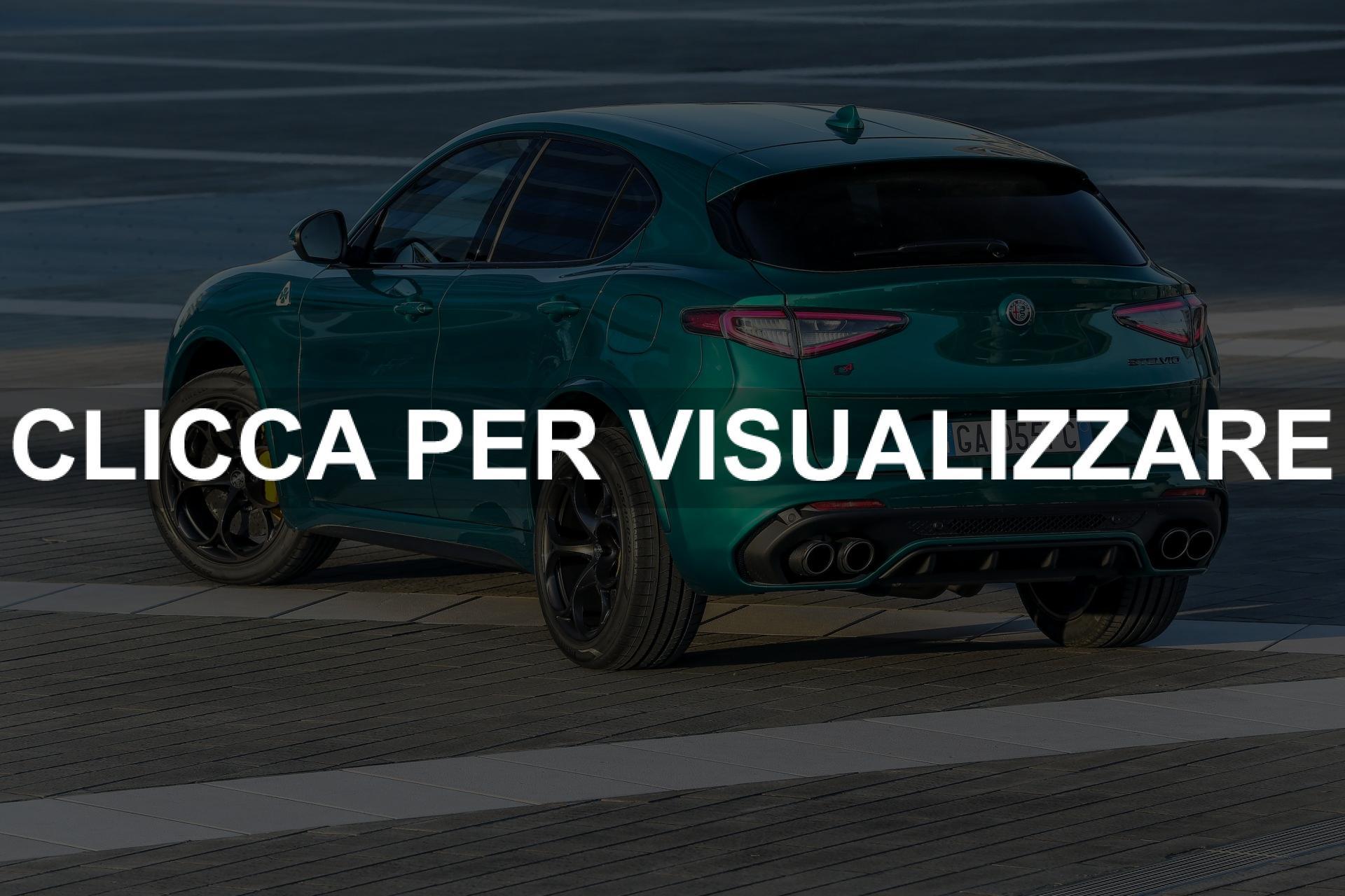 Immagine Posteriore Nuovo Alfa Romeo Stelvio Quadrifoglio 2020
