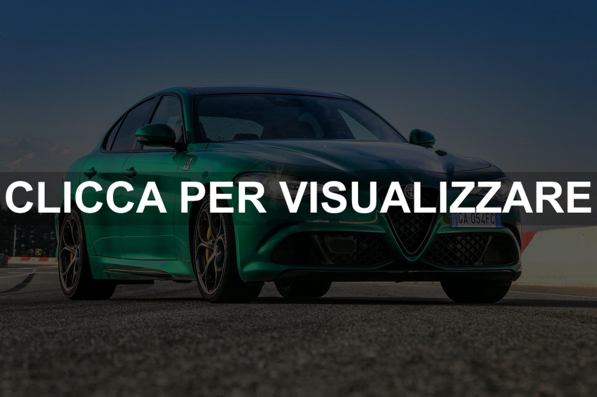 Immagini Frontale Nuova Alfa Romeo Giulia Quadrifoglio 2020