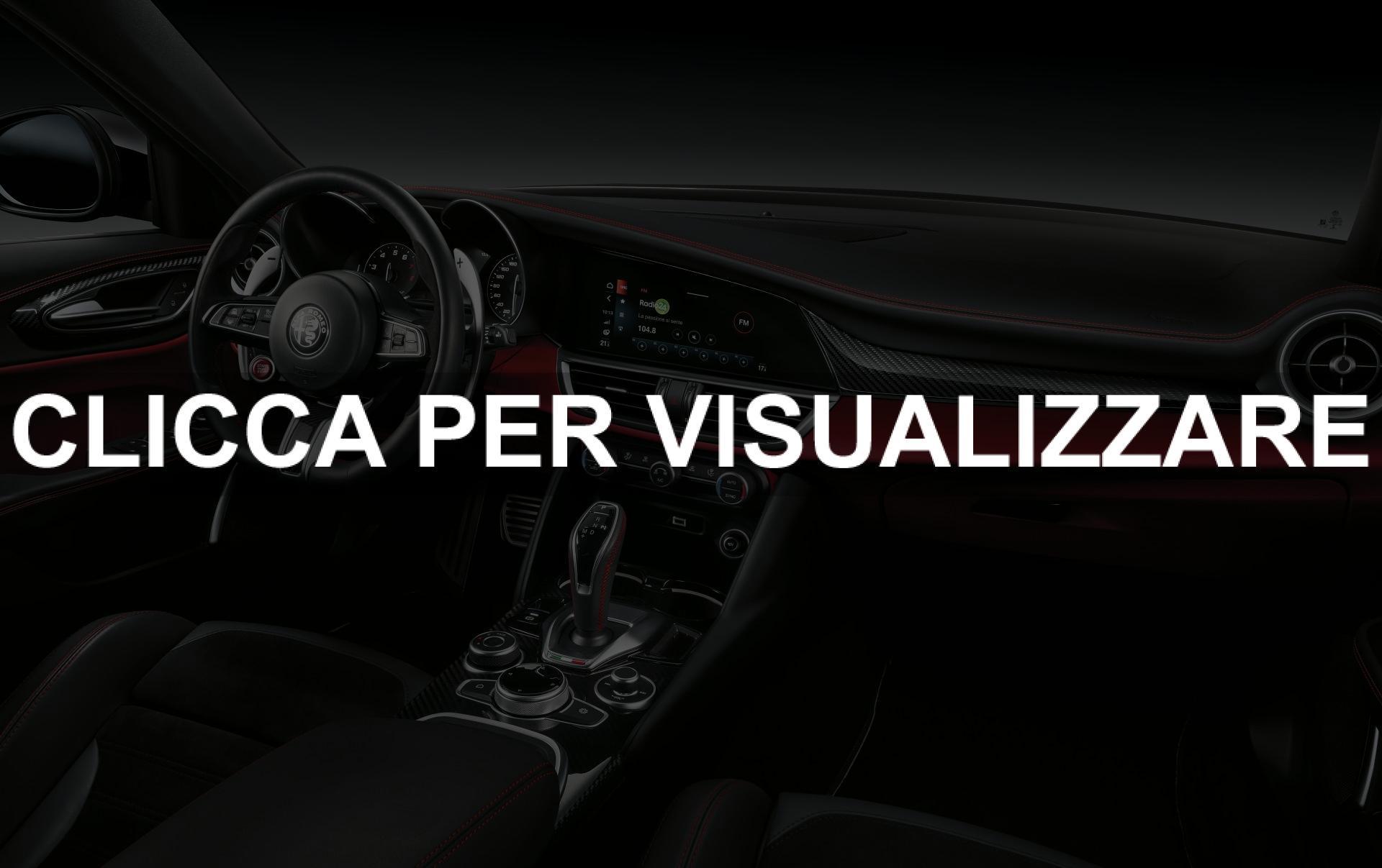 Immagini Interni Giulia e Stelvio Quadrifoglio 2020