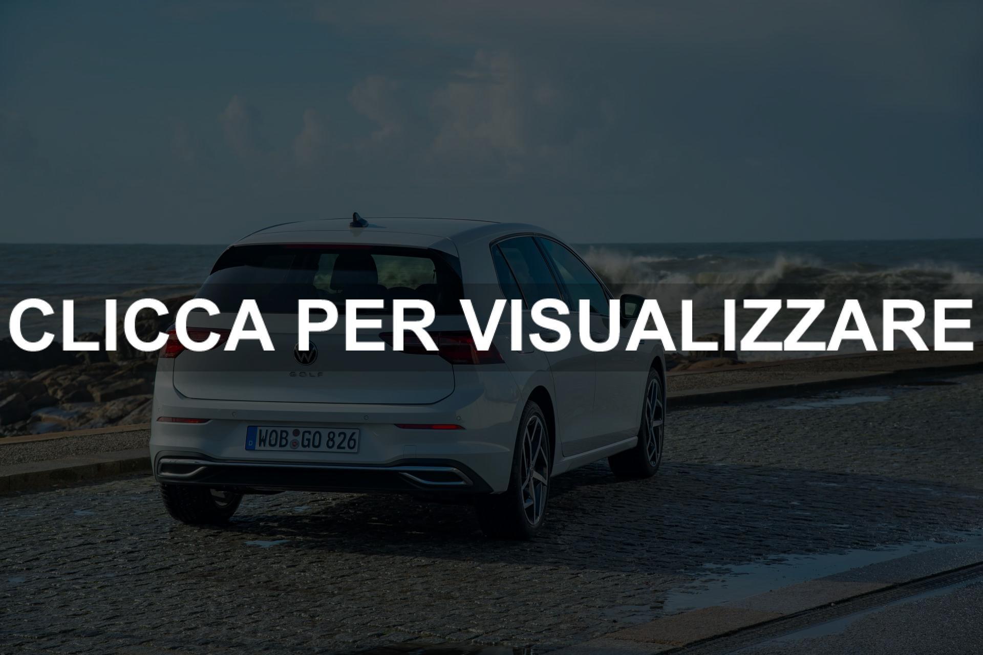 Immagini nuova Volkswagen Golf 2020