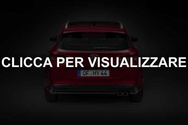 Posteriore nuova Hyundai i30 2020 Wagon