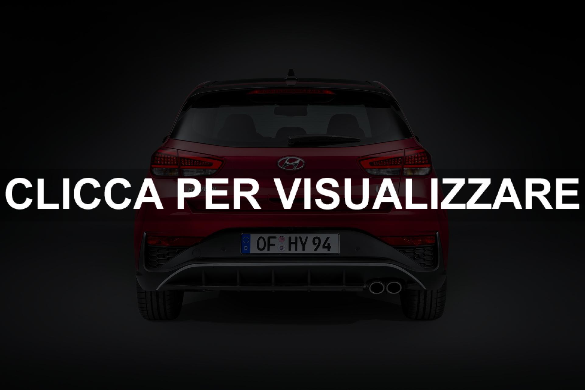 Posteriore nuova Hyundai i30 2020 compatta