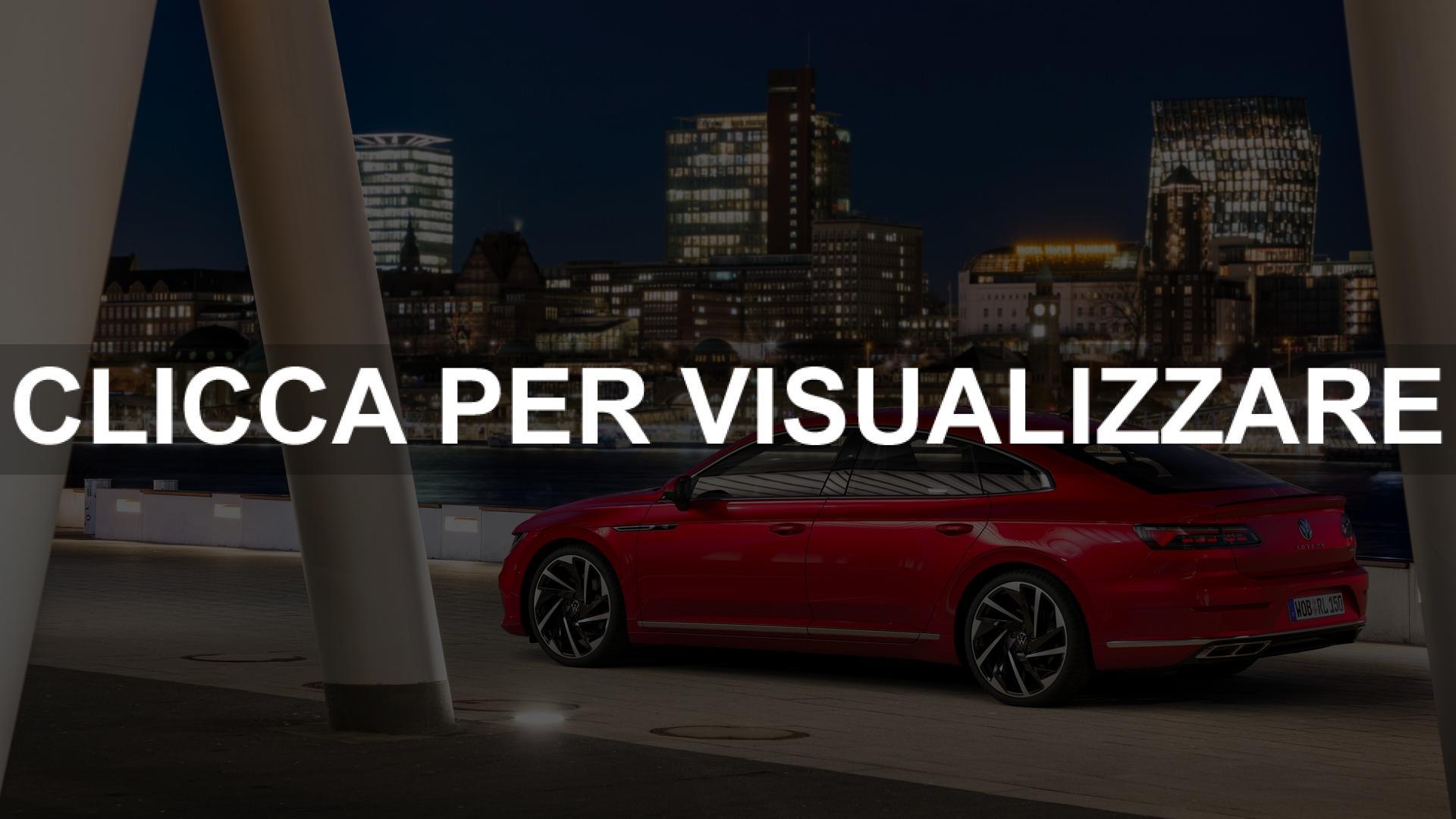 Foto nuova Volkswagen Arteon Restyling 2020