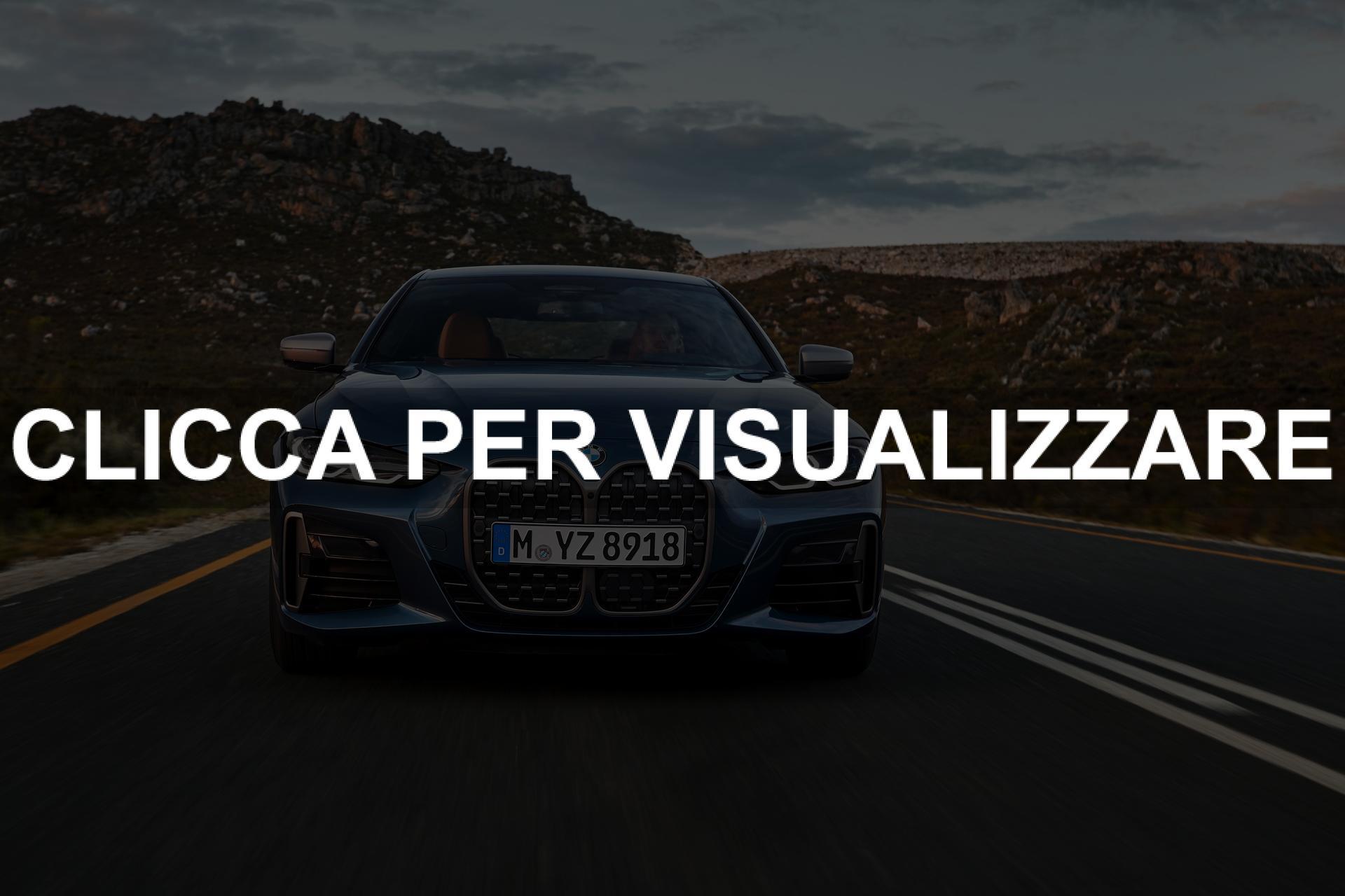 Immagine frontale nuova BMW Serie 4 2020