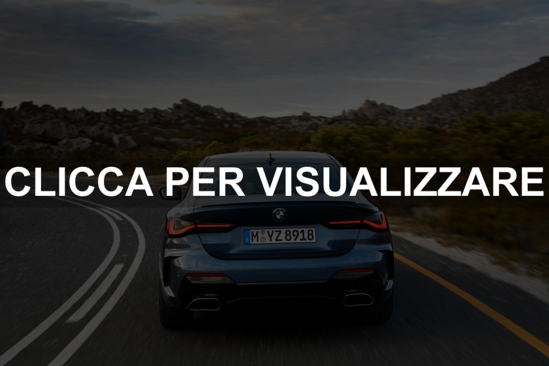 Immagine posteriore nuova BMW Serie 4 2020