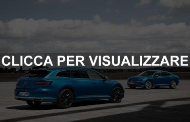 Nuova Volkswagen Arteon restyling shooting brake e ibrida 2020