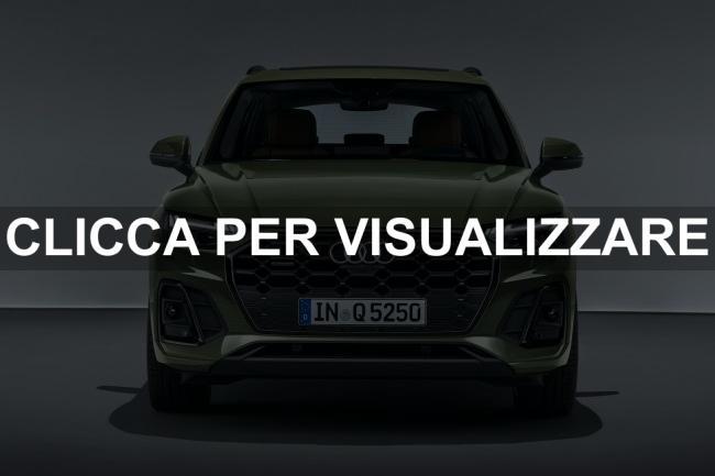 Frontale nuova Audi Q5 2020