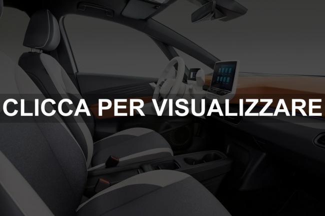 Immagine interni nuova VW ID 3