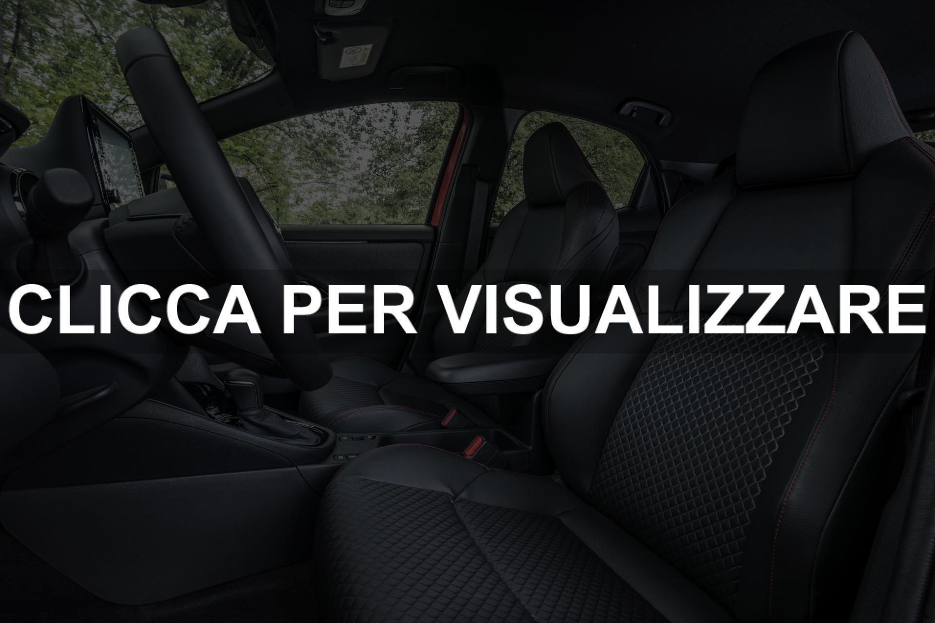 Abitacolo e sedili nuova Toyota Yaris 2020