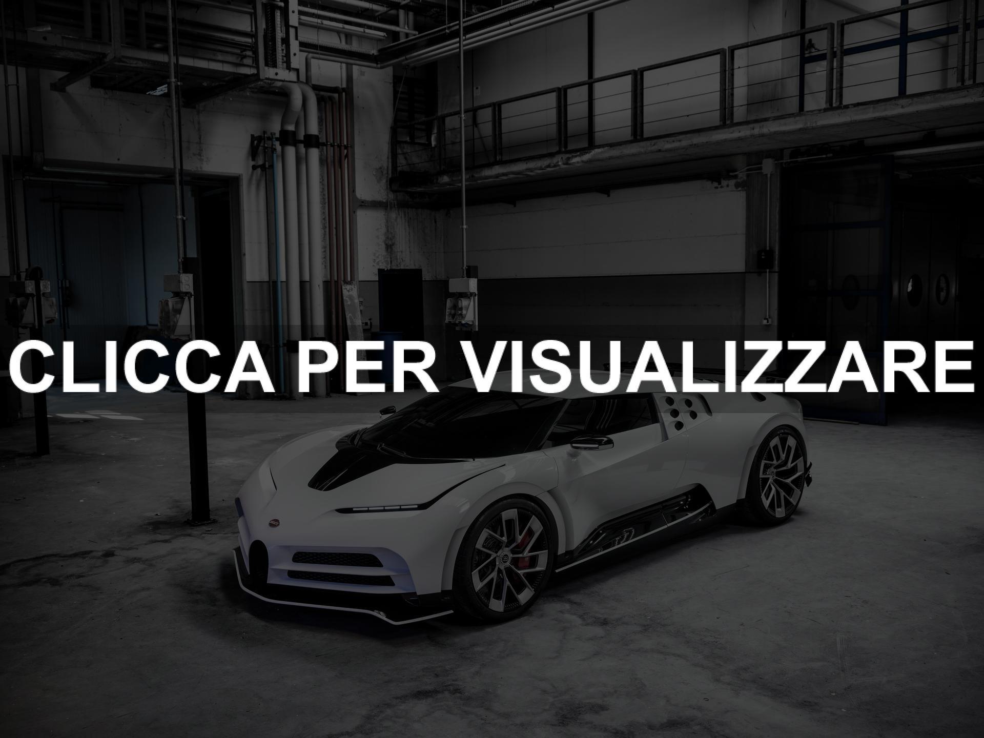 Nuova Bugatti Centodieci di Ronaldo