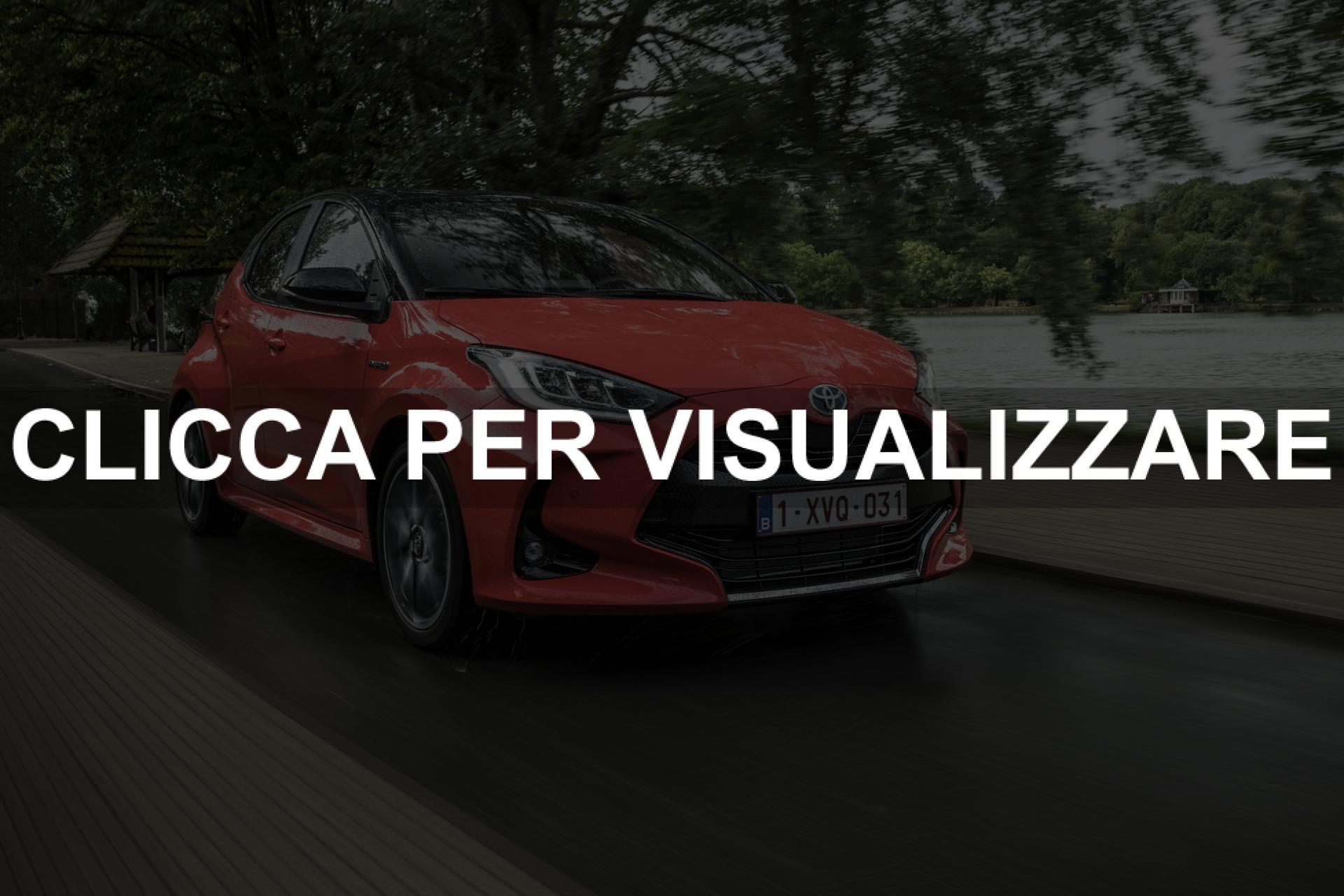 Nuova Toyota Yaris 2020 ibrida da 116 cv