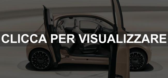 Apertura e interni nuova Fiat 500 31