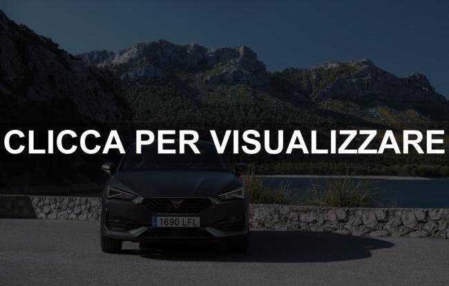 Immagine frontale nuova Cupra leon 2021
