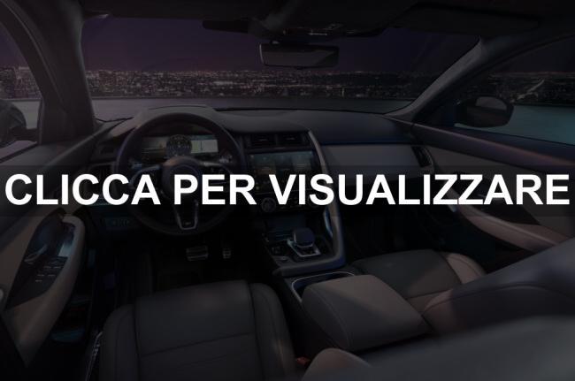 Interni nuova Jaguar E Pace 2021