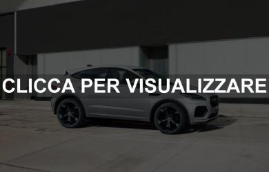 Nuova Jaguar E Pace 2021 restyling