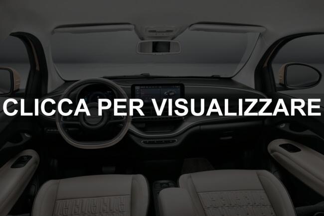 Plancia e volante nuova Fiat 500 31