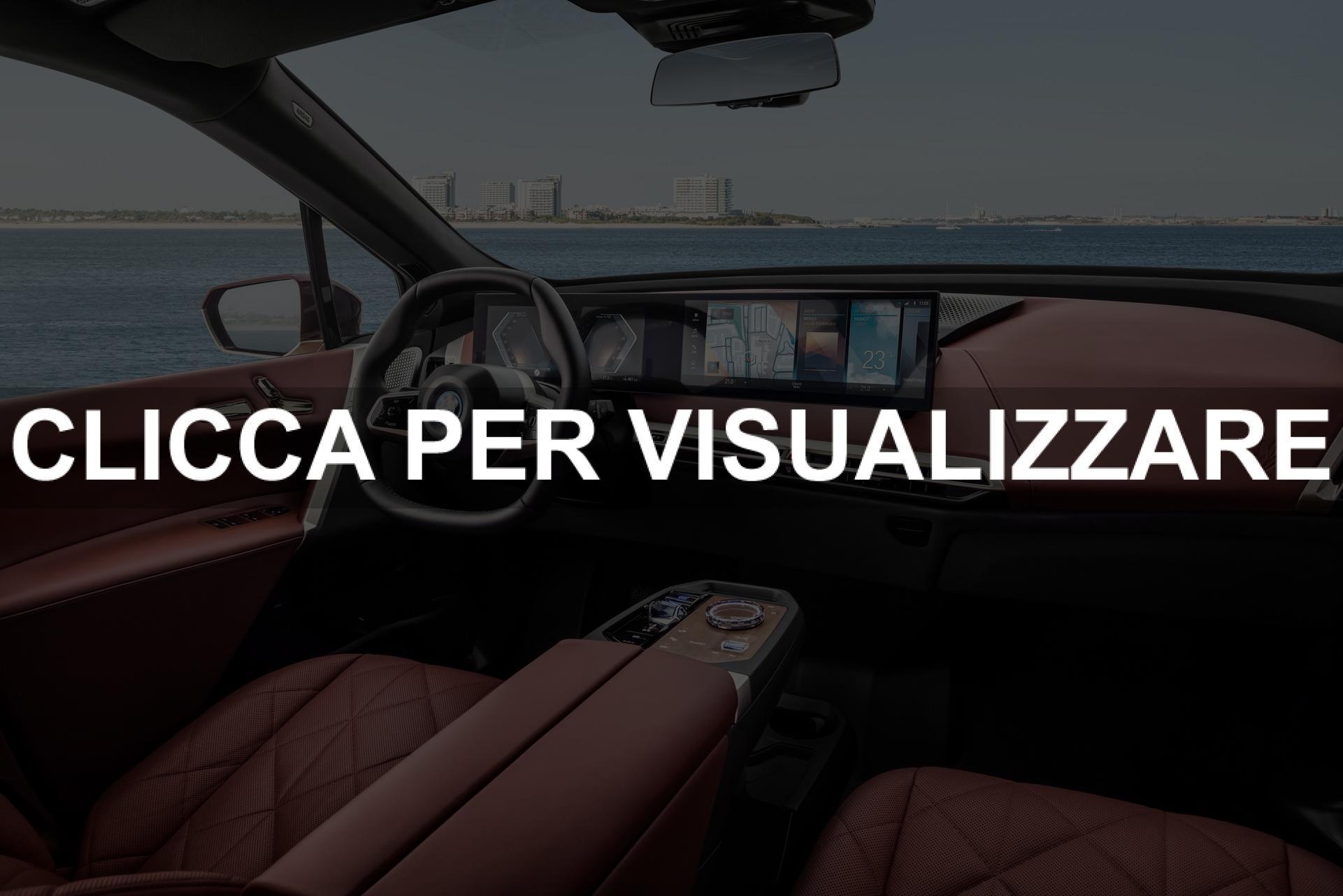 Foto interni nuova BMW iX 2021 elettrica