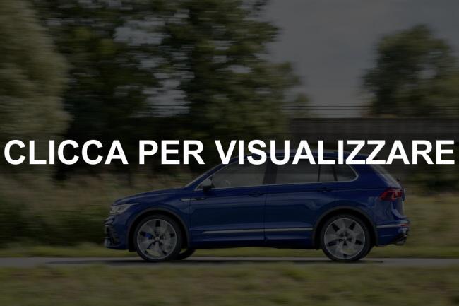 Immagine fiancata nuovo Volkswagen Tiguan R 2021