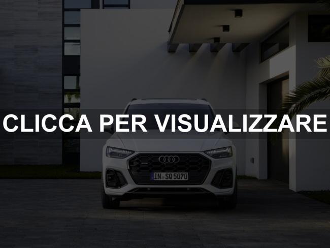 Immagine frontale nuovo Audi SQ5 2021