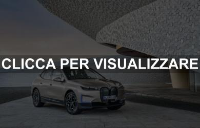 Immagine nuova BMW iX elettrica