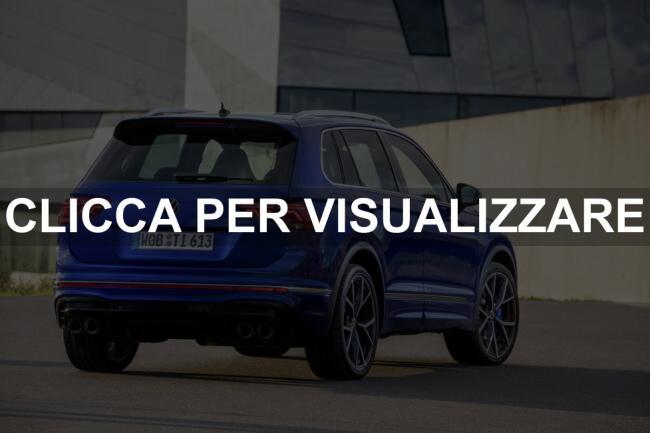 Immagine posteriore nuovo Volkswagen Tiguan R 2021