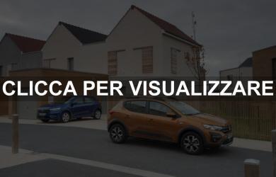Nuova Dacia Sandero e Dacia Sandero Stepway 2021 Motori Dimensioni e Foto
