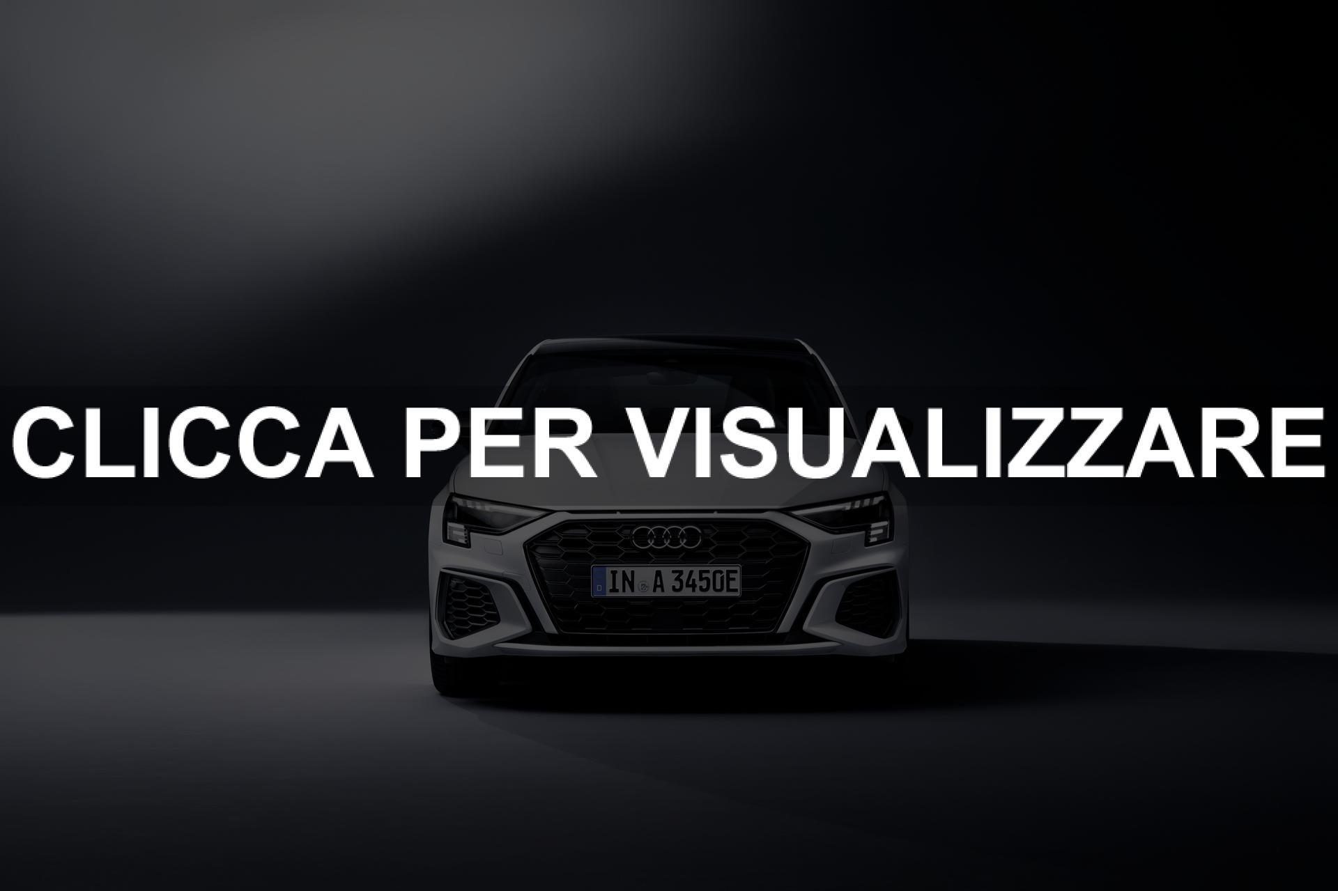 Immagine frontale nuova Audi A3 Sportback 45 TFSI Ibrida plug in 2021