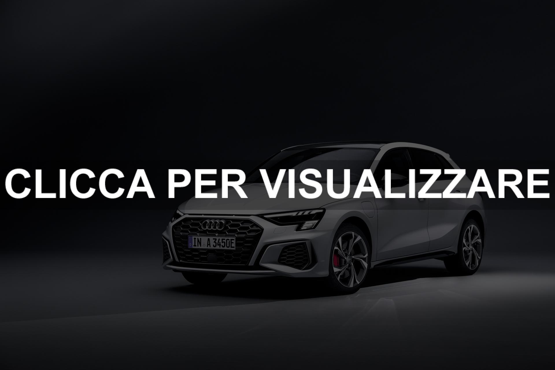 Nuova Audi A3 Sportback 45 TFSI Ibrida plug in 2021