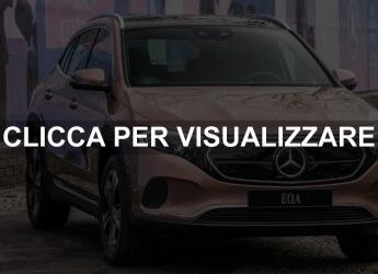 Nuova Mercedes eletterica EQA 2021