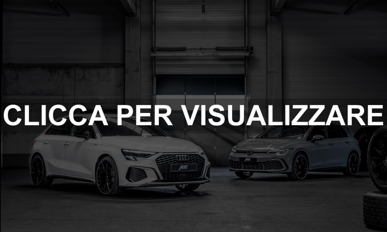 Nuovo kit di potenziamento ABT Sportsline Volkswagen e Audi
