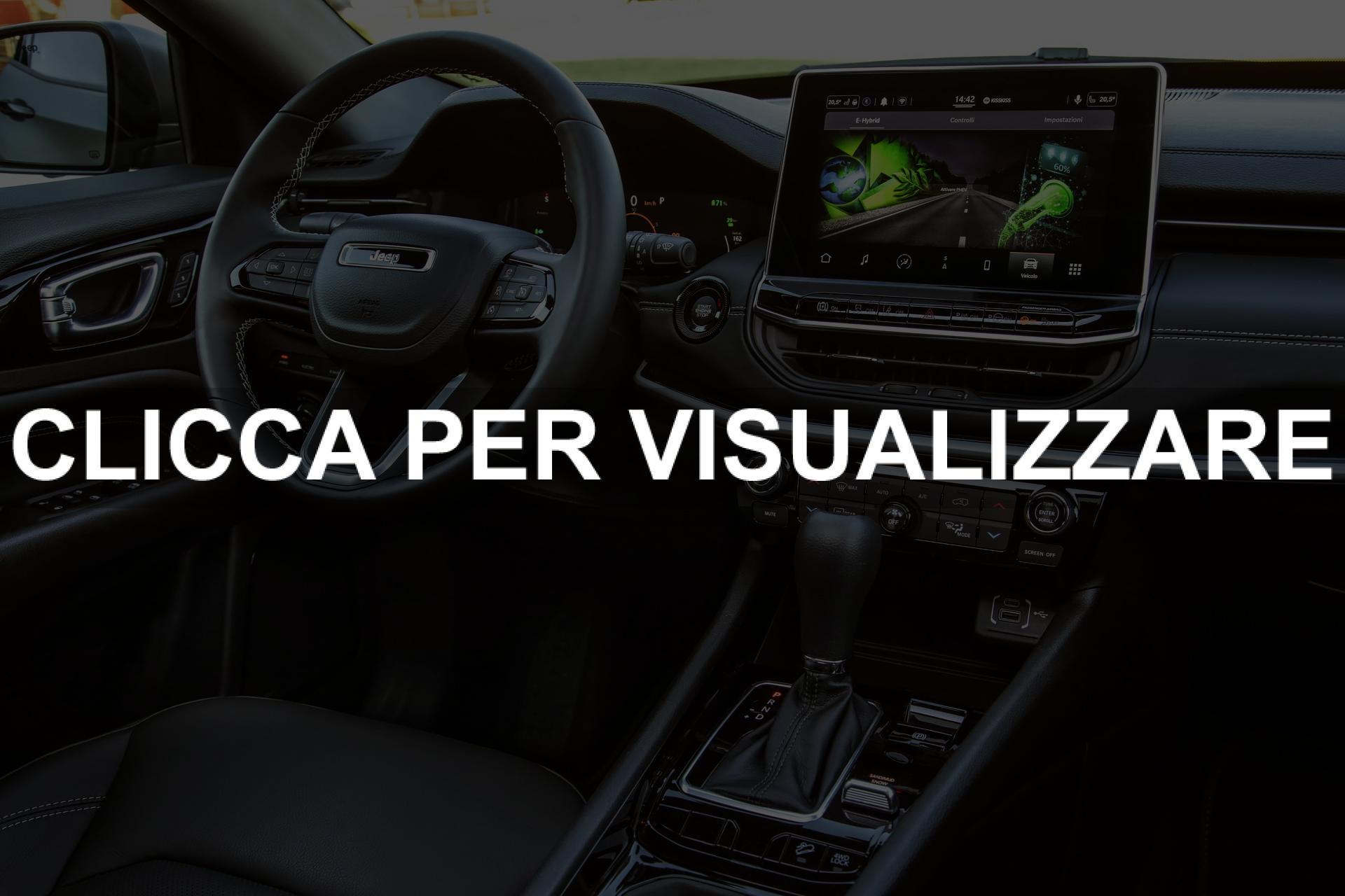 Dettagli interni nuova Jeep Compass 2021 Restyling
