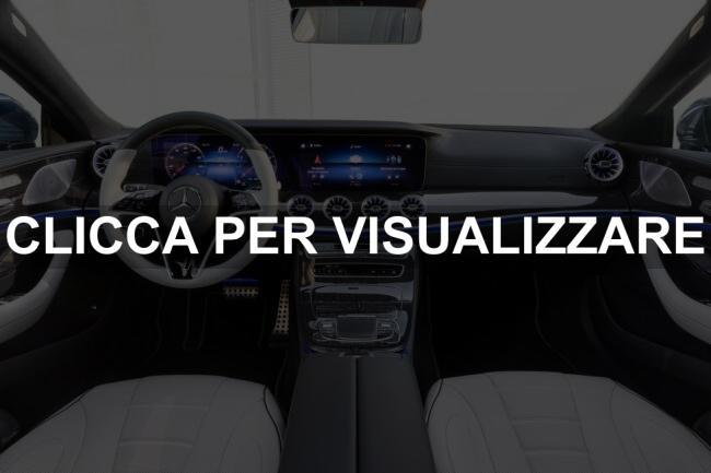 Immagine interni nuova Mercedes CLS 2021