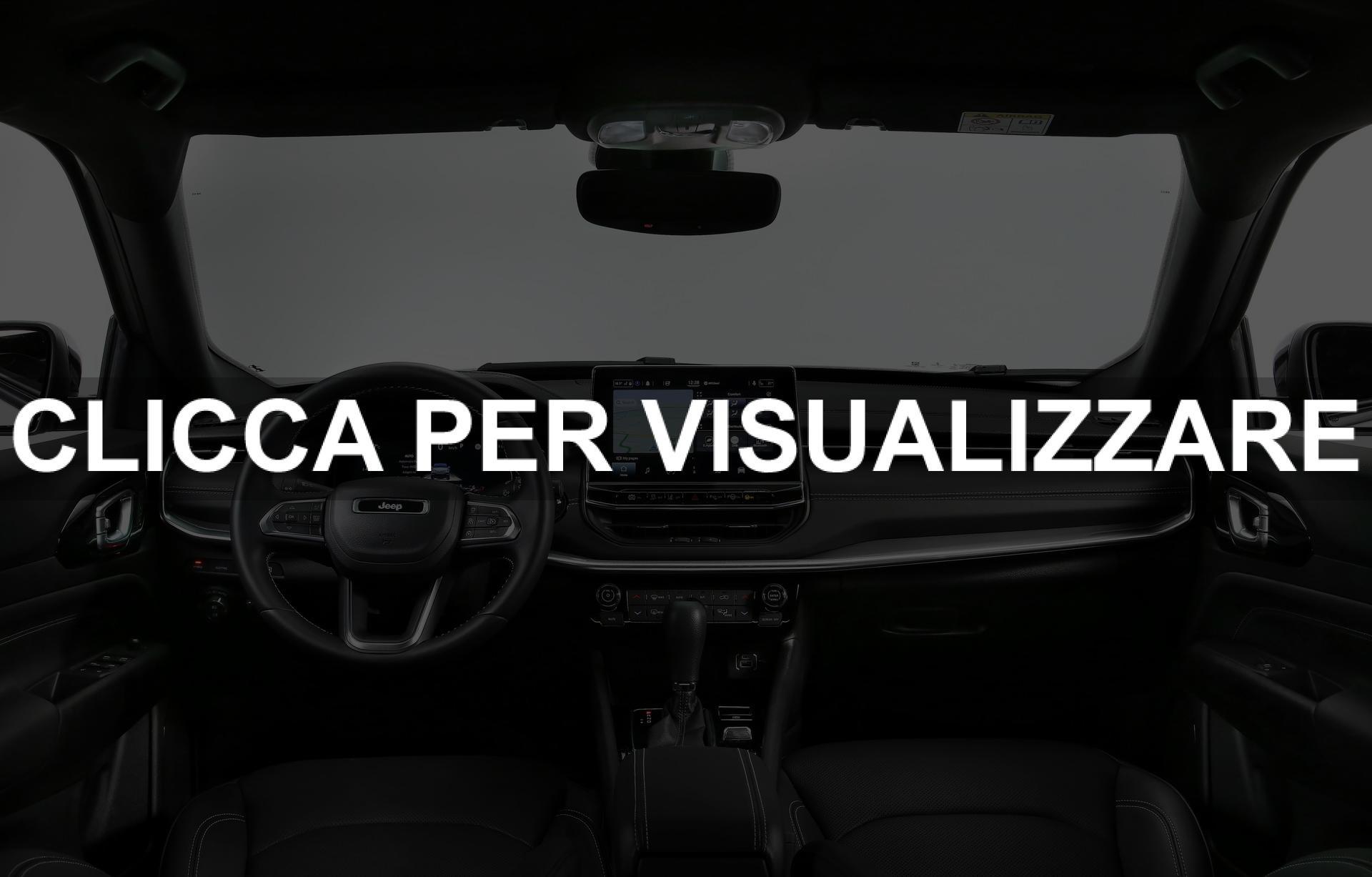 Immagine interni nuovo Jeep Compass 2021 Restyling