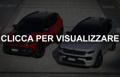 Nuovo Jeep Compass Restyling 2021