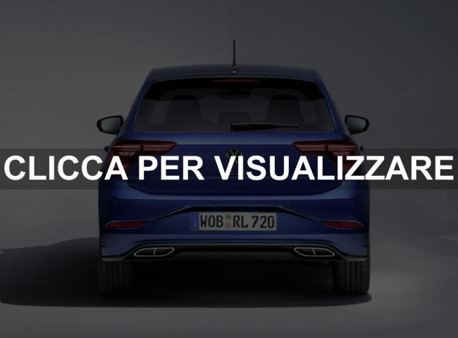 Posteriore nuova Volkswagen Polo 2021 Restyling