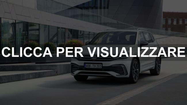 Immagine nuovo frontale Volkswagen Tiguan Allspace 2021