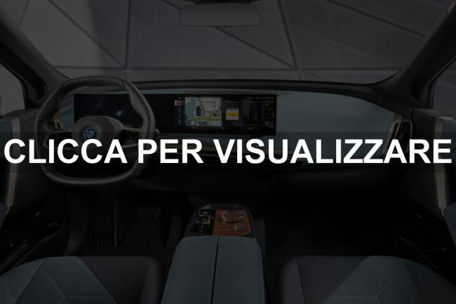Immagine interni nuovo suv elettrico BMW iX xDrive50