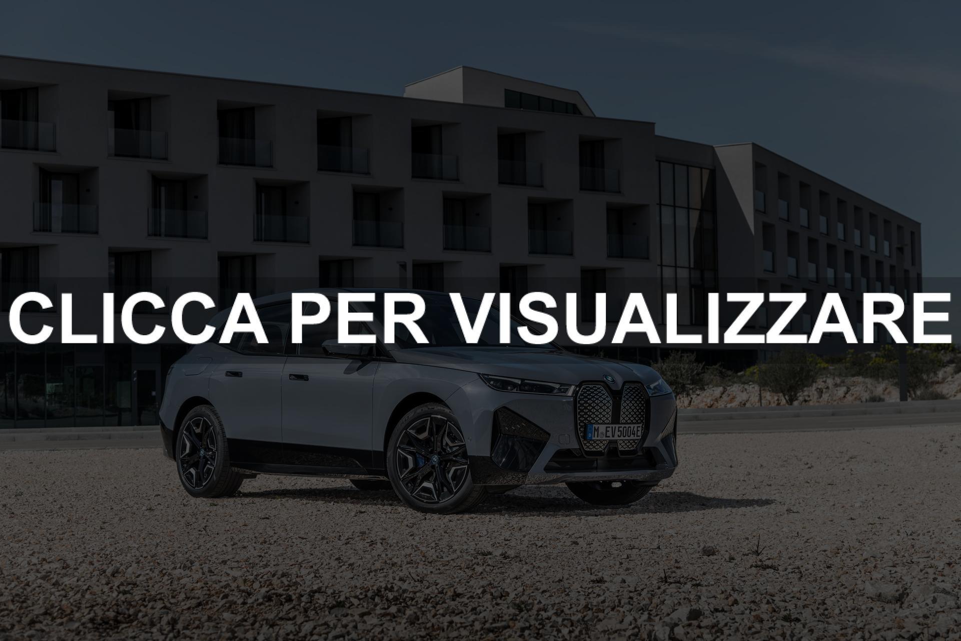 Nuova BMW elettrica 2021