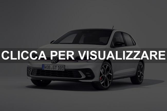 Immagine Frontale nuova VW POLO GTI 2021