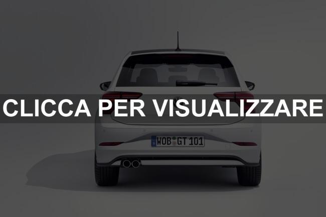 Immagine Posteriore nuova VW POLO GTI 2021