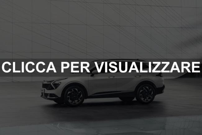 Immagine fiancata nuova Kia Sportage 2022