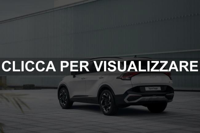 Immagine posteriore nuova Kia Sportage 2022